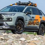 Air/G Rocksを新型50RAV4に!