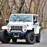 Jeep JKラングラーをマットブラックホイールでカスタム!
