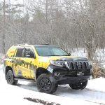 『LAND CRUISER FES 4WD雪上体験試乗会』に参加してきました。